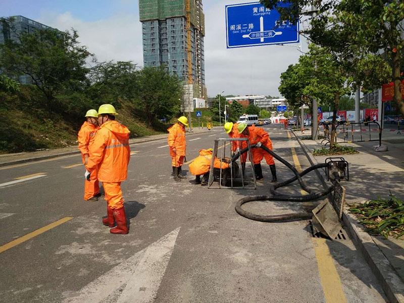 上海市政清淤