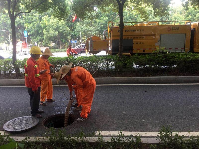上海管道清淤